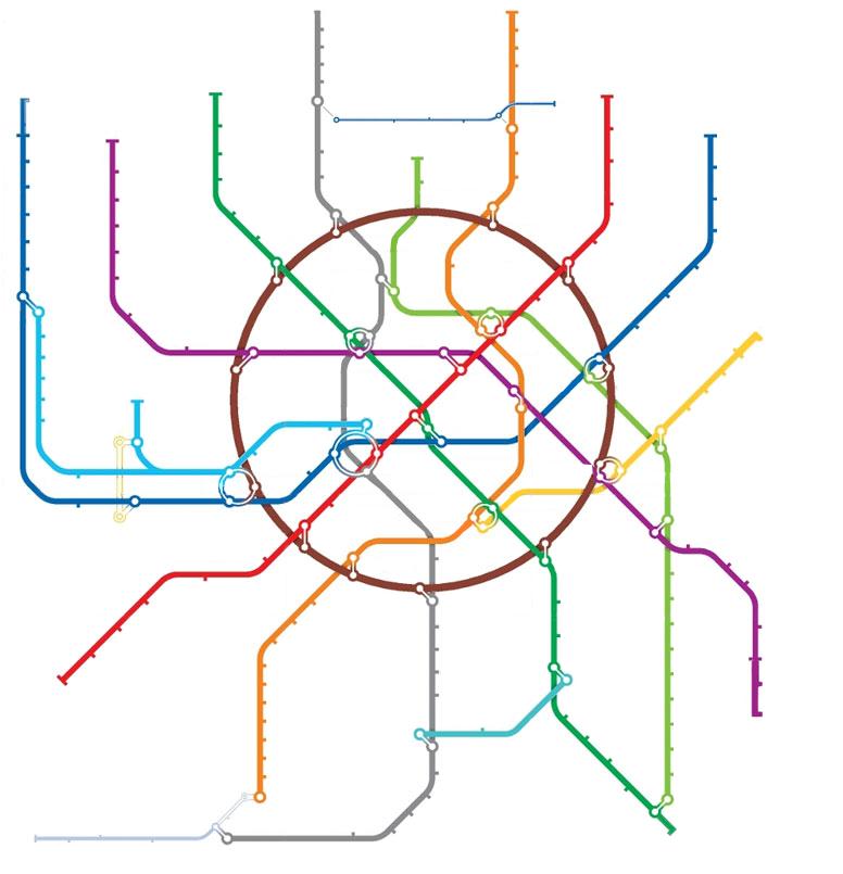 открытка схема метро спасибо ответ